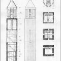 Věž kostela sv. Florina v Kozmicích (Atelier Štěpán, 2000)