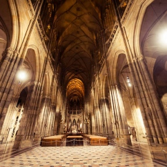 Lighting of St. Vitus Cathedral