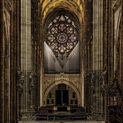 Organ prospectus of St. Vitus Cathedral